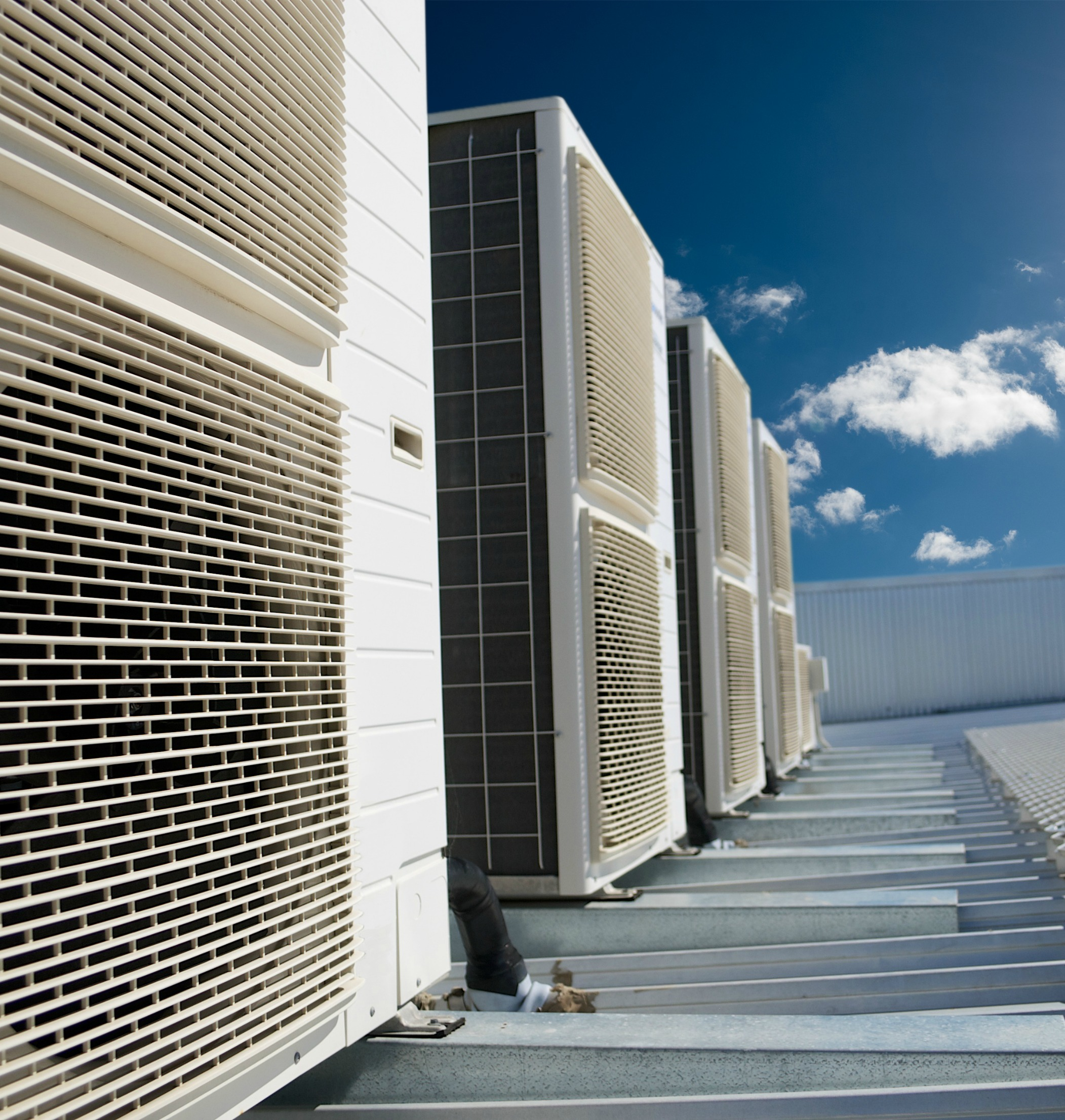 Photo of mechanical engineering example which is air conditioning