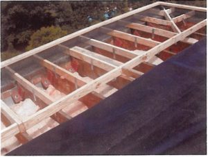 replacement roof structure