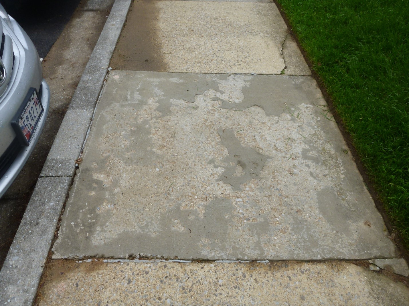 Scaling Concrete Surfaces